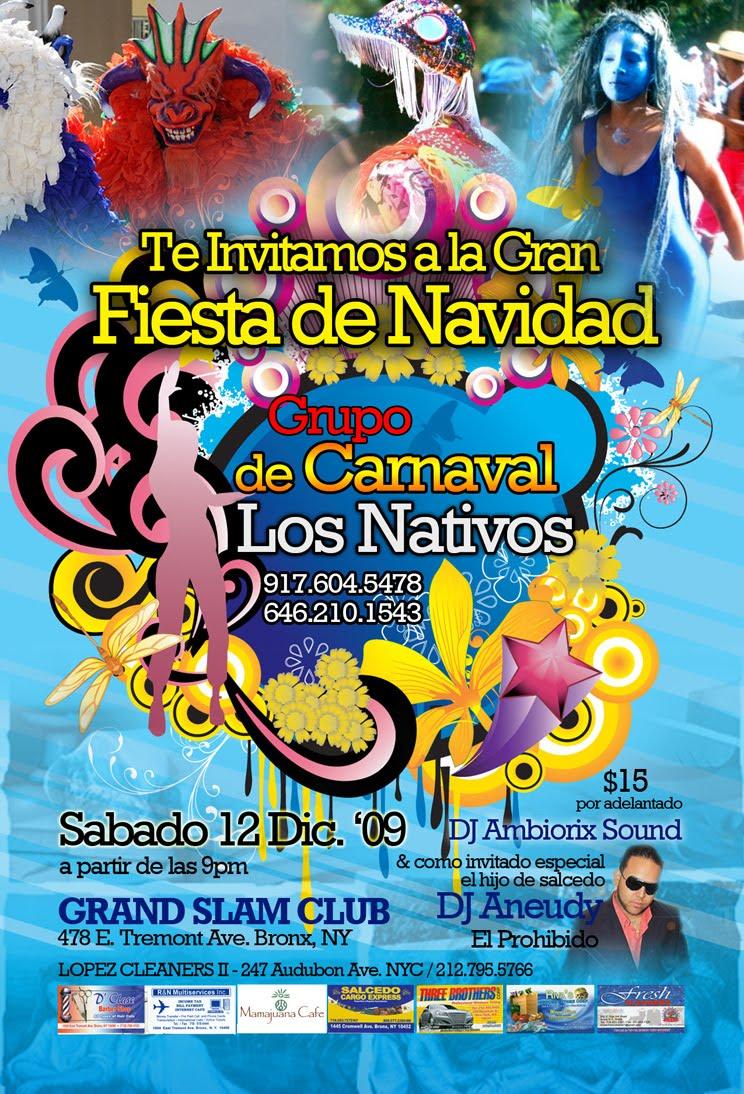 LA FIESTA SERA ESTE SABADO 12 DE DICIEMBRE Estamos a escaso un días para el  gran encuentro Salcedenses en apoyo al nuevo grupo de Carnaval LOS NATIVOS. de69b1fe3